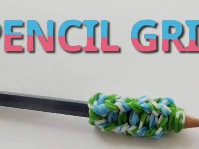Rainbow Loom Pencil Grip with pencils | without loom | loom bands