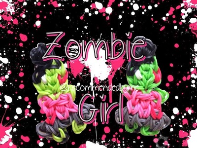 Rainbow loom-Zombie girl-how to