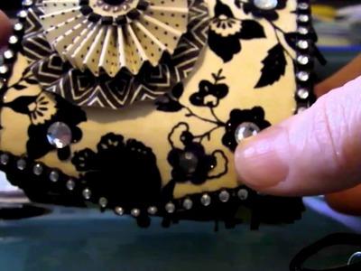Shabby Chic Altered Box with Mini Album