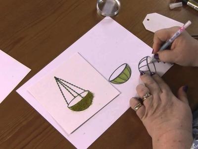 Signature Dies by Joanna Sheen - Hanging Basket