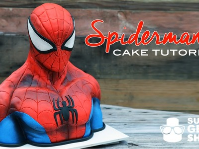 Spiderman Cake Tutorial Promo