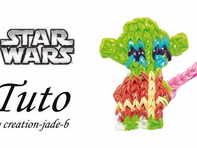 Tuto Rainbow Loom - Yoda de STAR WARS ! ( Mural sans fond )