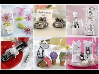 Wedding party favor ideas