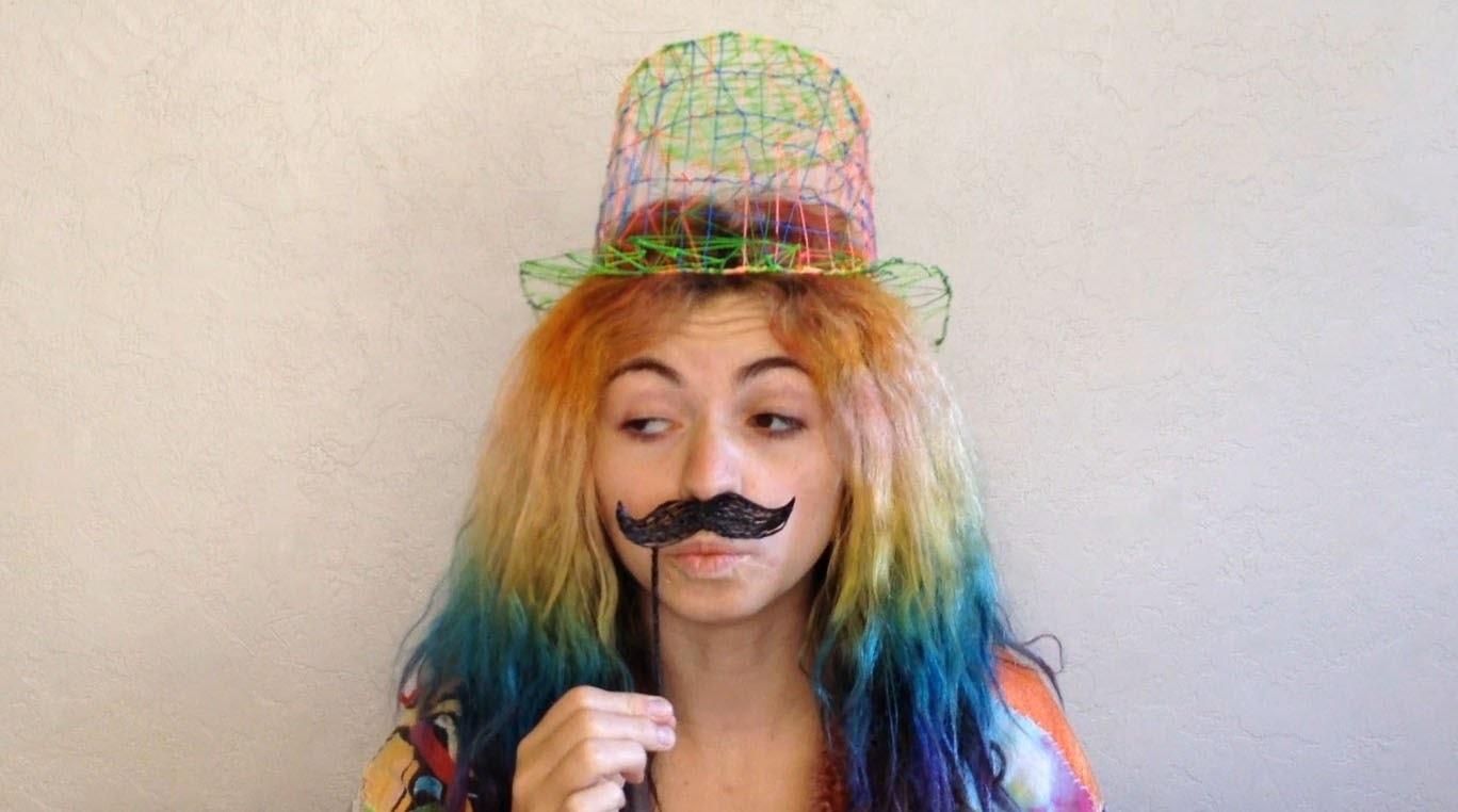 3doodler Creations! (hat, moustache, iphone case)