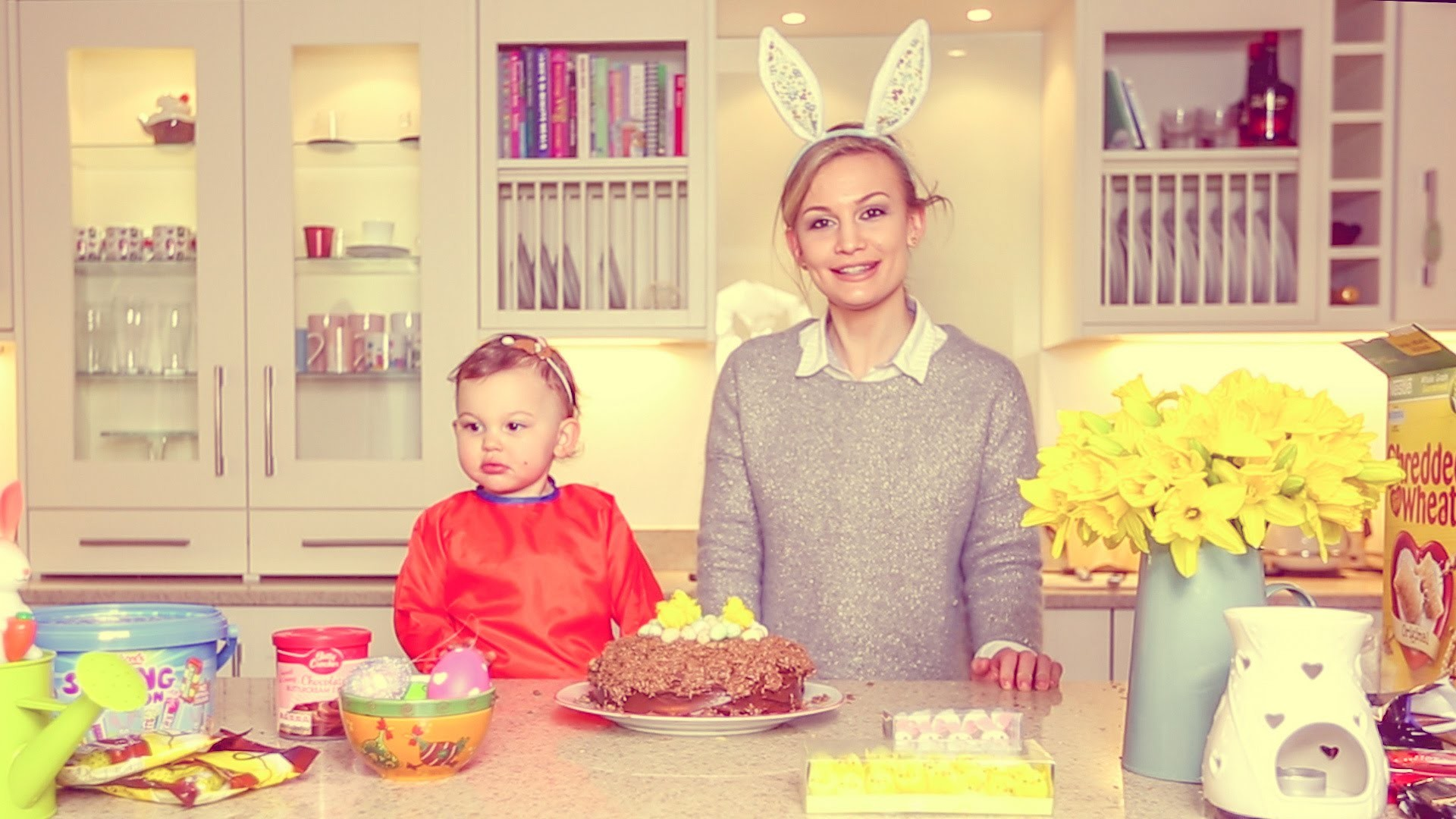 #ad | HOW TO: Easter Nest Cake Recipe with SACCONEJOLYs!