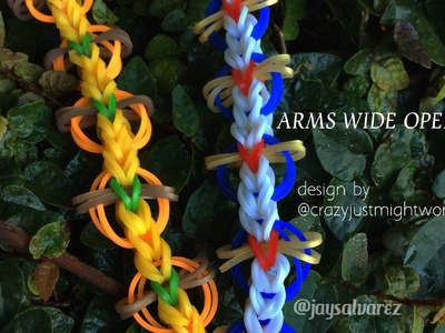 "ARMS WIDE OPEN ""Hook Only"" tutorial by @jaysalvarez for ILOVEHUESHOP"