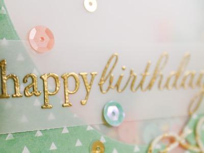 Balloon Shaker Card
