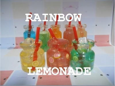 Bottle Charm: Rainbow Lemonades