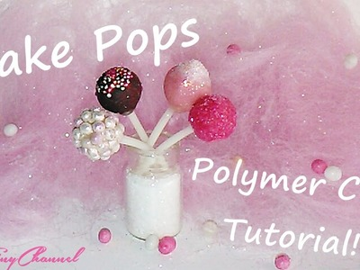Cake Pops ♥ Polymer Clay Tutorial Miniature