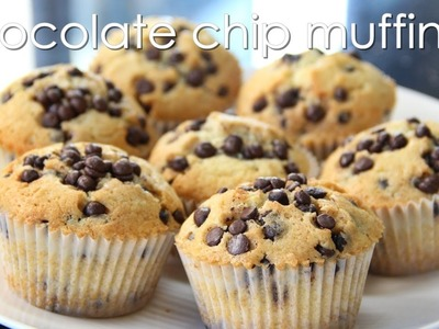 Chocolate Chip Muffins (Real good, must try!) - Recipe by ZaTaYaYummy