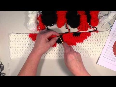 Crochet Lady Bug Graph in DC - Part #6