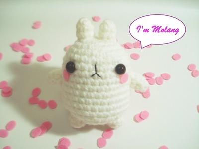 Crochet Molang amigurumi FREE PATTERN