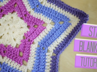 CROCHET: Star blanket | Bella Coco