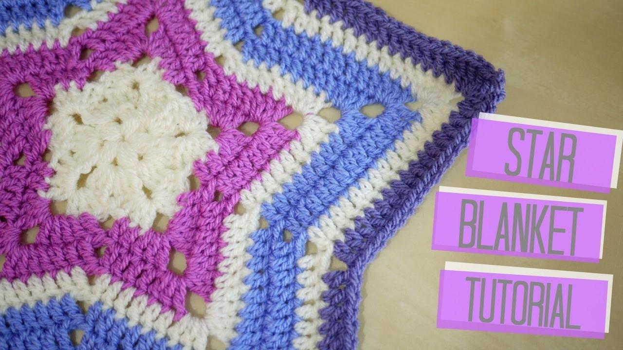 CROCHET: Star blanket | Bella Coco