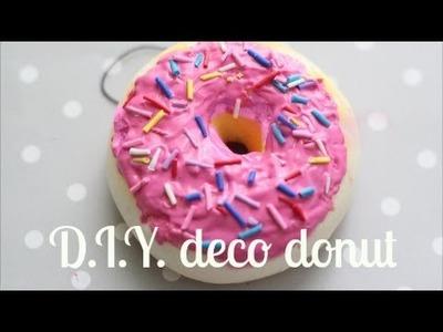 D.I.Y. Deco Donut Squishy (≧◡≦) ♥