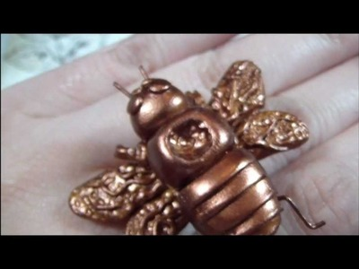 Day 5 of 7 Days of Hunger Games: Tracker Jacker Interchangeable Ring & Pendant