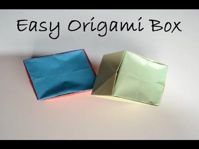 DIY Crafts Tutorials - Easy Origami Paper Box - Giulia's Art