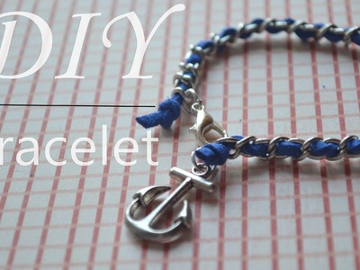DIY : nautical bracelet