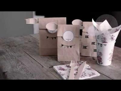 DIY: Sandwich bags by Søstrene Grene