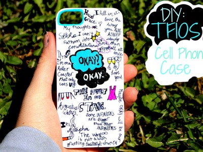 DIY:The Fault in our Stars cellphone case