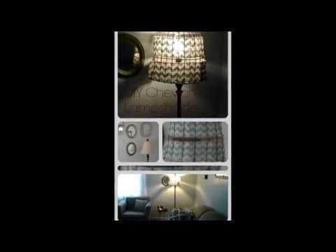 DIY Wire Basket Lampshade