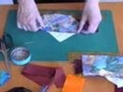 Faire deux triangles en patchwork