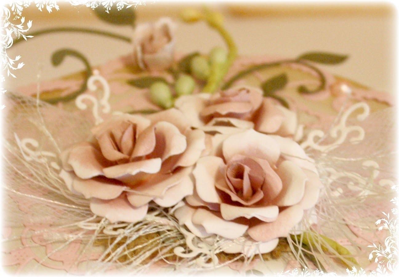 Flower Tutorial using Cheery Lynn Gardenia Die Strip