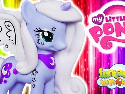 Funny My Little Pony Cartoon video Princess Luna Crystal Princess Celebration Rainbow Dash