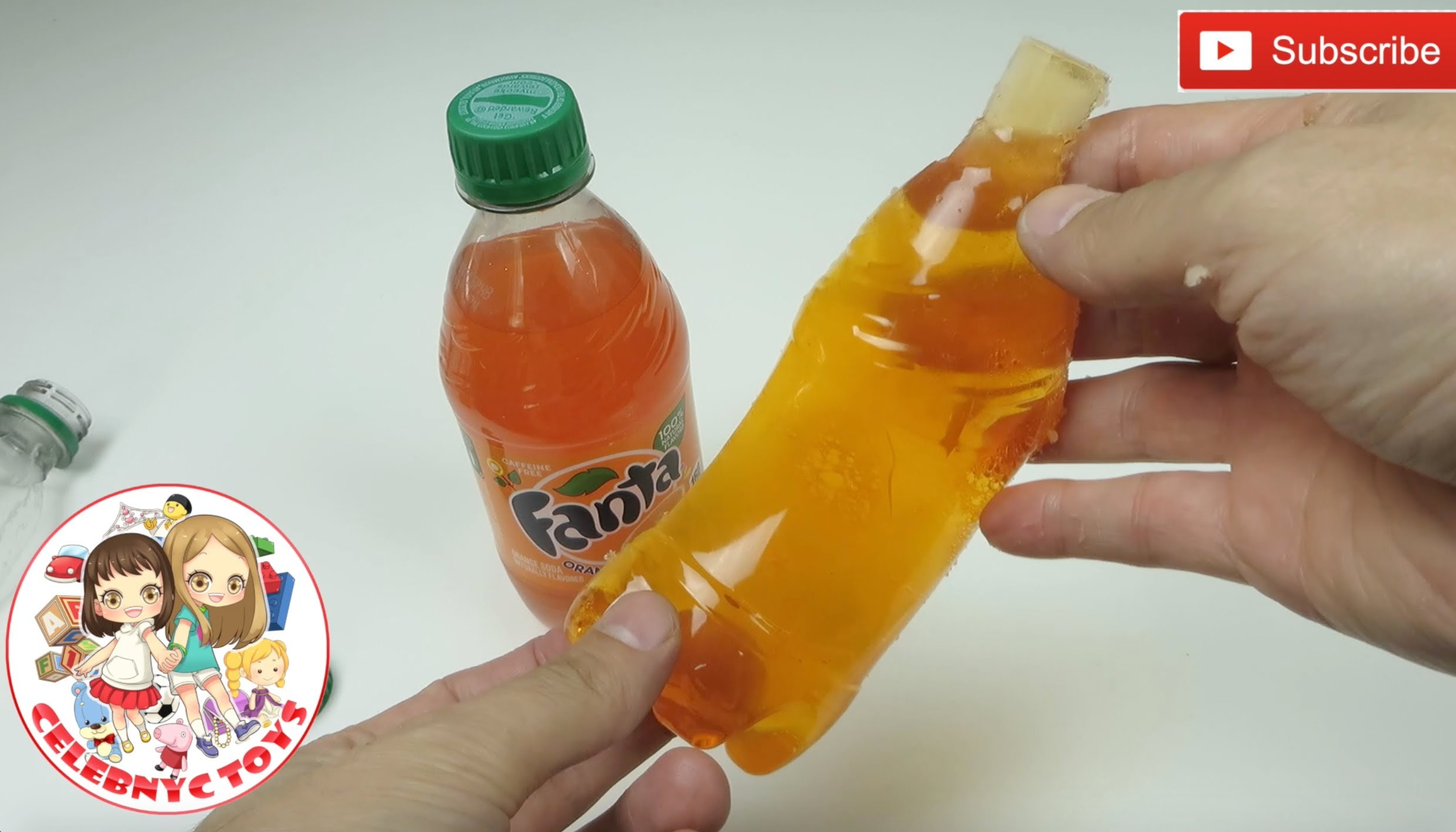 GIANT FANTA Yummy Gummy  Soda DIY Candy Making Drink Beverage Recipe
