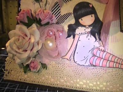 Girly Gorjuss Valentine's Day Card
