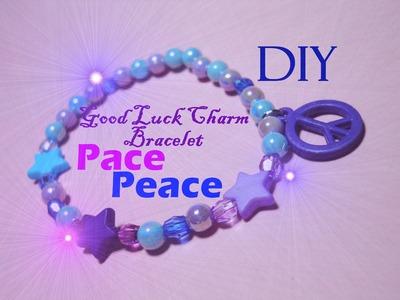 Good Luck Charm Bracelet ☮ Peace ☮ Braccialetto Portafortuna della Pace - Tutorial. DIY. How to
