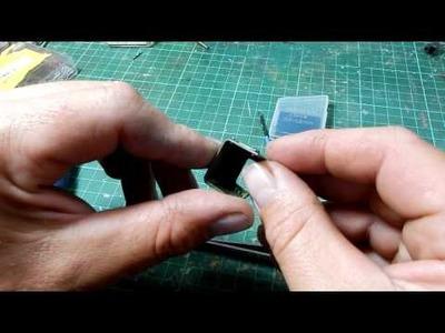 Gunpla Tutorial : Detailing with Sewing Pins