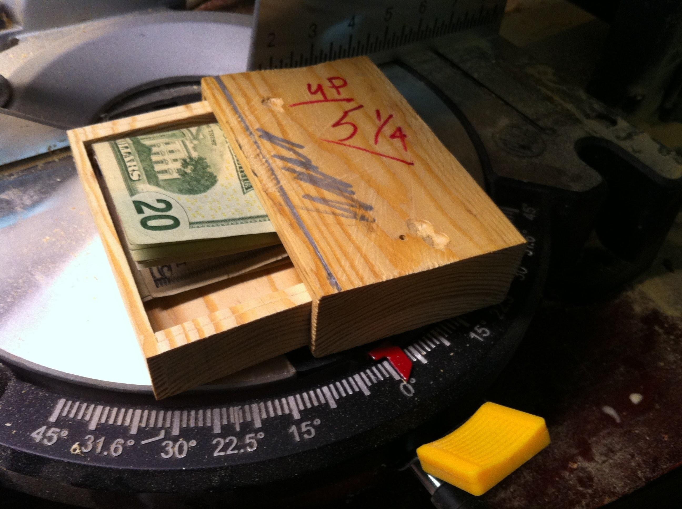 Homemade, Secret Box, hidden compartment, Everybody needs one