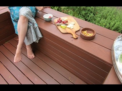 How to Build a DIY Deck with Bench Seats