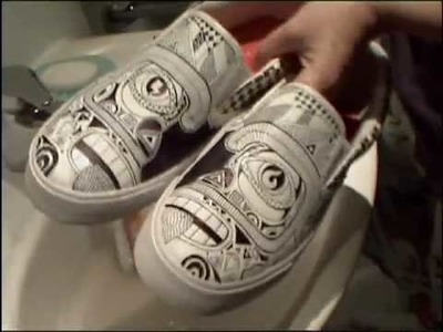 How to clean custom shoes