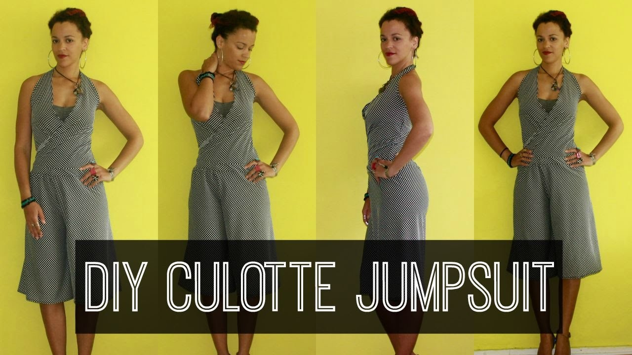How-to DIY Culottes Jumpsuit | DIY Clothes