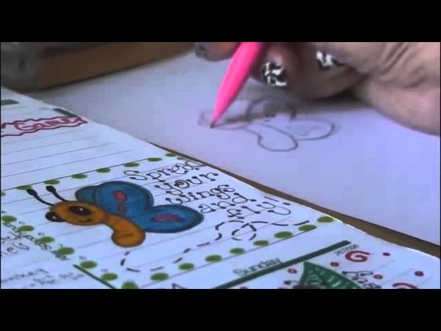 How to Draw BUTTERFLY Doodle RainBow Loom Netherlands
