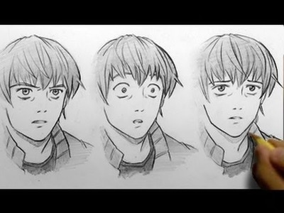 How to Draw Facial Expressions, 3 Ways