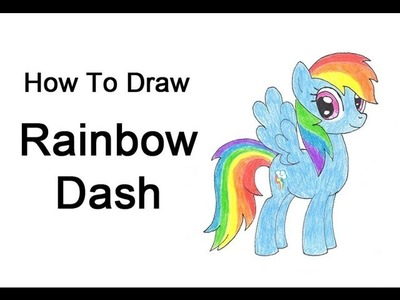 How to Draw Rainbow Dash (My Little Pony)
