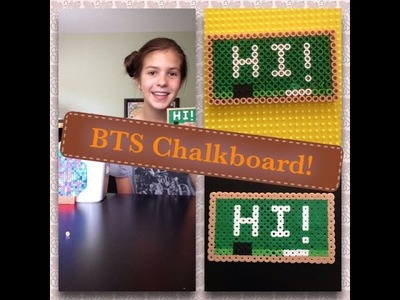 How To Make A Perler Bead Chalkboard! ~Back-To-School~