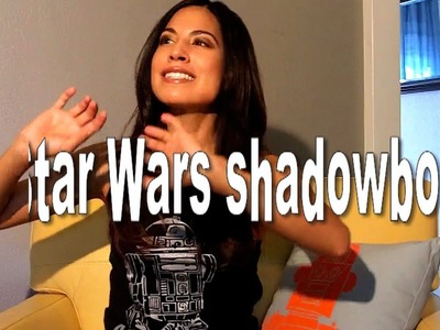 HOW TO MAKE A STAR WARS SHADOWBOX!