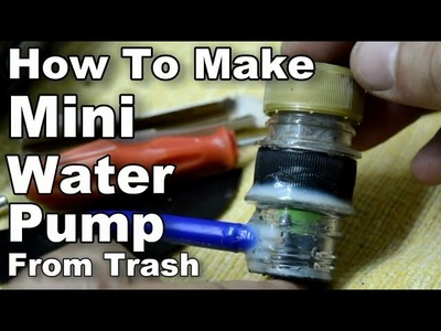 How To Make Mini Water Pump From Trash