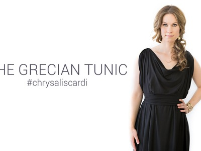 How to Style the Grecian Tunic with your Chrysalis Cardi