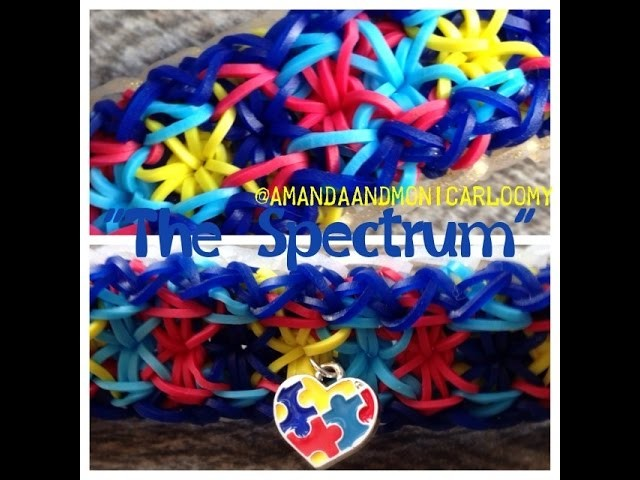 "**NEW**""The Spectrum"" Rainbow Loom Tutorial"