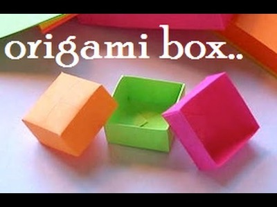 Oigami Paper Box - DIY PAPER CRAFTS