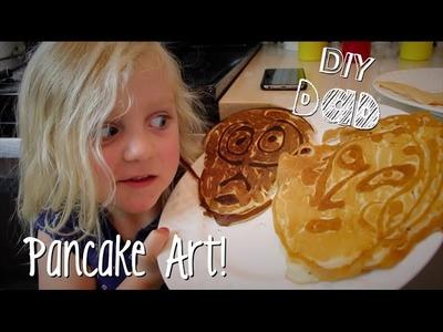 PANCAKE ART FUN! | DIY Dad: epoddle