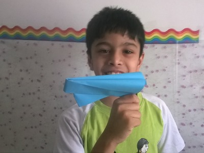 Paper popper, flapper (easy and loud) : Origami 15