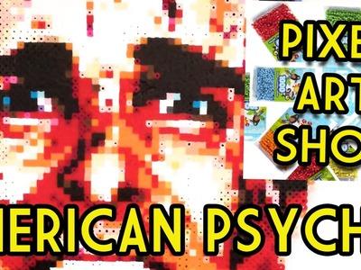 Perler Bead American Psycho - Pixel Art Show