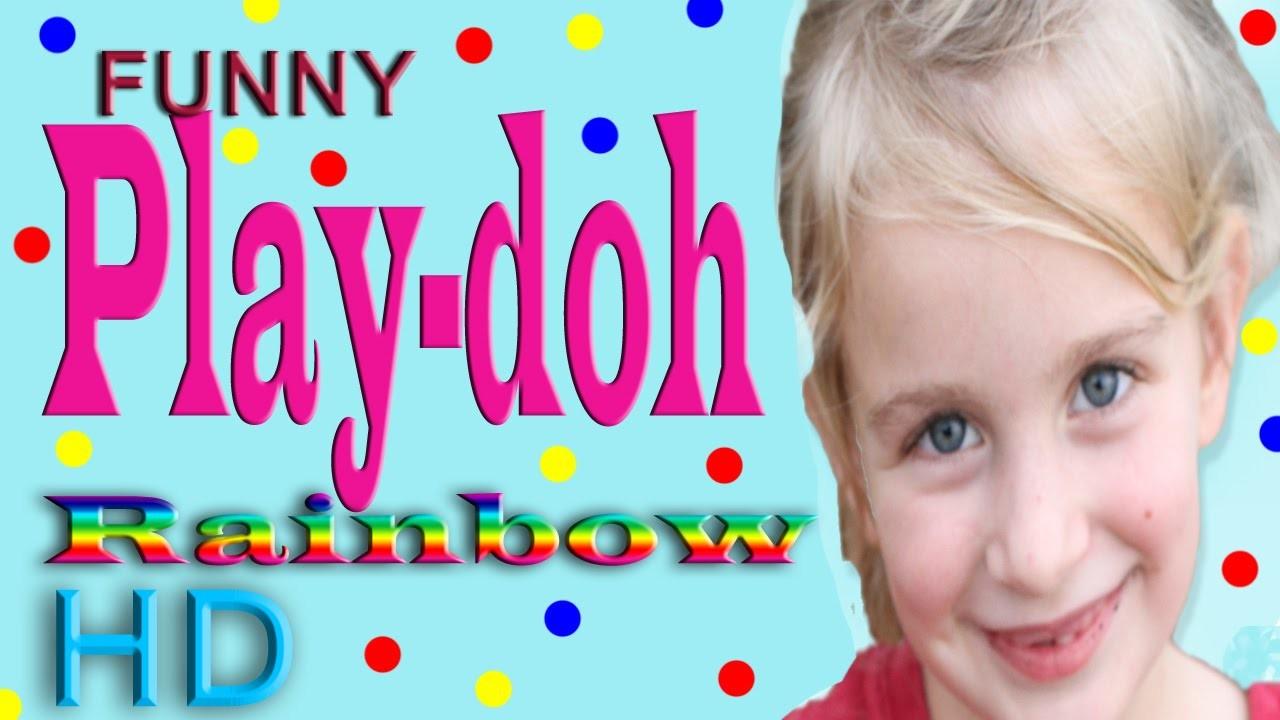 Play-Doh Playdoh Playdough Rainbow Tutorial Video Full Length - Funny