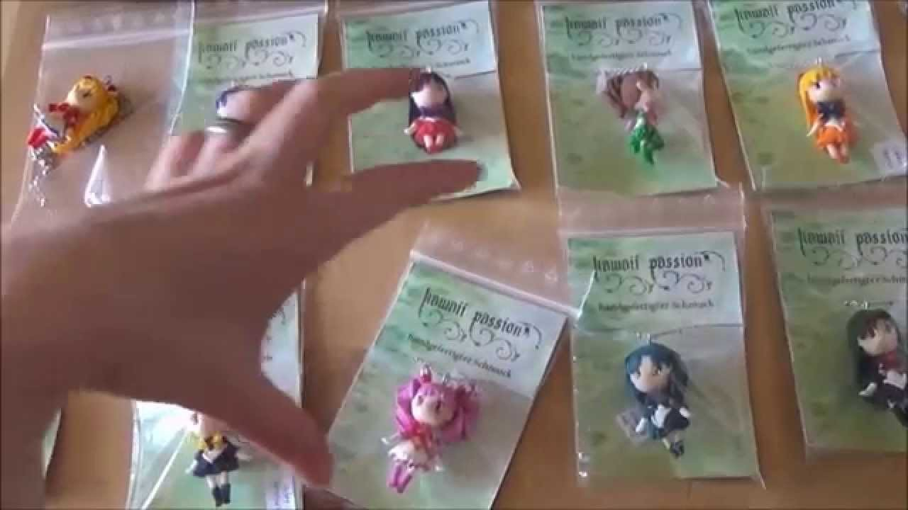 Polymer Clay Creations #15 -  Sailor Moon Chibis